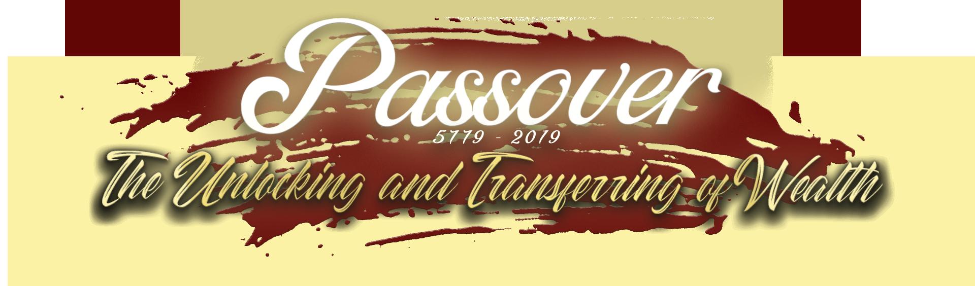 Passover 2019 - Glory of Zion International